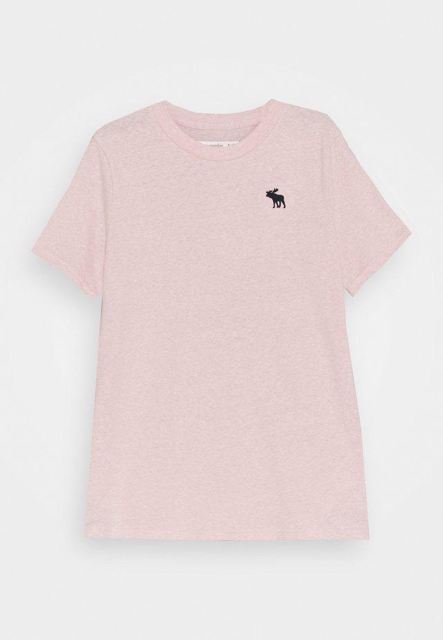 BASICS - Jednoduché triko - pink