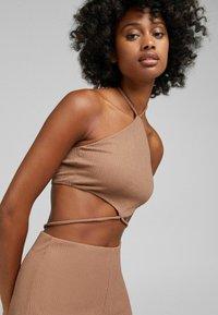 Bershka - Jumpsuit - brown - 4