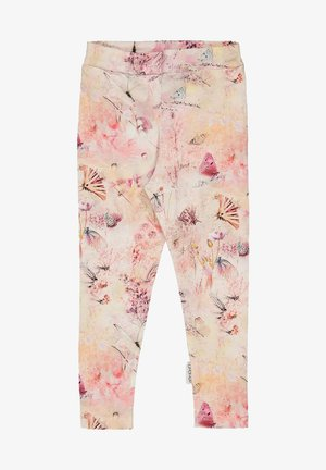 Leggings - Trousers - coral butterfly