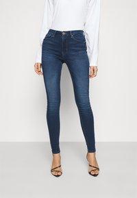 ONLY - ONLPAOLA LIFE - Jeans Skinny - dark blue denim - 0
