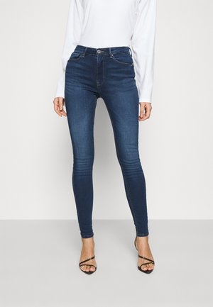 ONLPAOLA LIFE - Jeans Skinny Fit - dark blue denim
