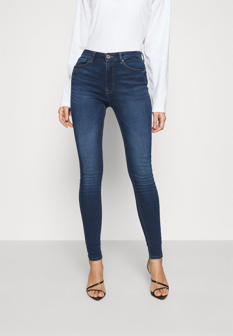 ONLY - ONLPAOLA LIFE - Jeans Skinny - dark blue denim