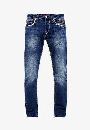 MANTER - Straight leg jeans - blau
