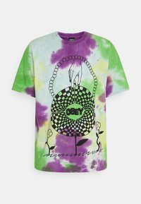 Obey Clothing - IN BLOOM - Printtipaita - purple - 0