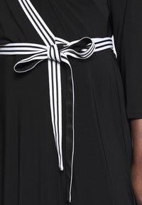 Lauren Ralph Lauren Woman - BENNETT DAY DRESS - Shift dress - black - 5
