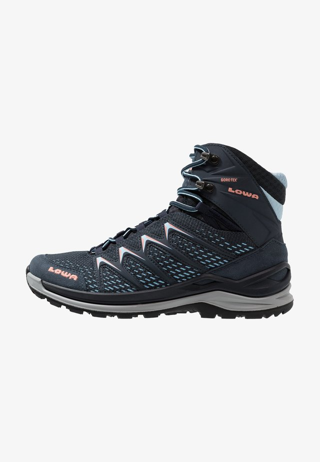INNOX PRO GTX MID - Hiking shoes - stahlblau/lachs