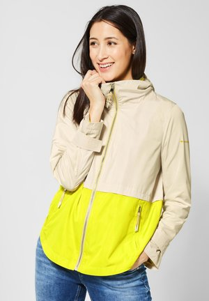 MIT COLOURBLOCK - Summer jacket - beige