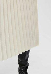 Selected Femme - Áčková sukně - birch - 4