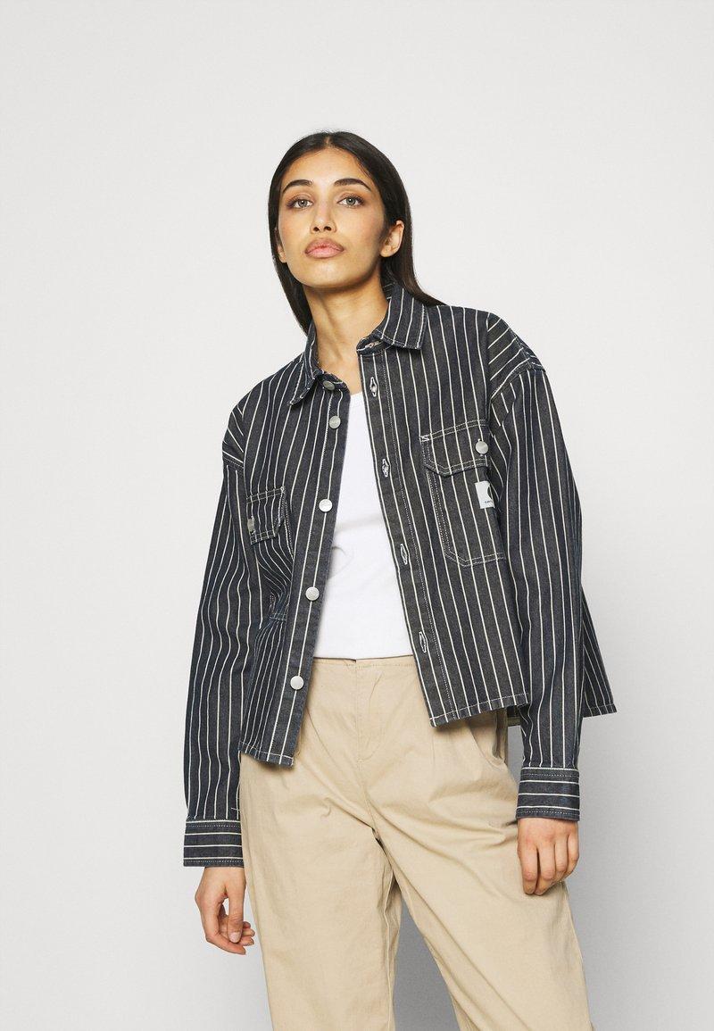 Carhartt WIP - TRADE  - Summer jacket - dark navy