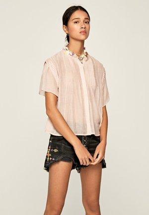DOMINIKA - Button-down blouse - pale