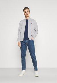 Lacoste - Zip-up sweatshirt - gris chine - 1