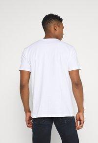 Quiksilver - NIGHT SURFER - Print T-shirt - white - 2