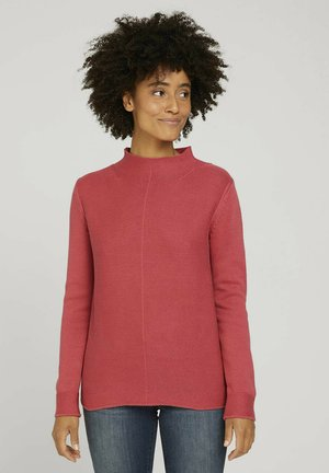 STRUCTURE MIX - Jumper - cozy pink