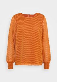 ONLY - ONLANNELENA O NECK  - Camiseta de manga larga - ginger bread - 5