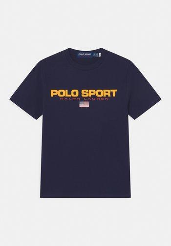 T-shirts print - cruise navy
