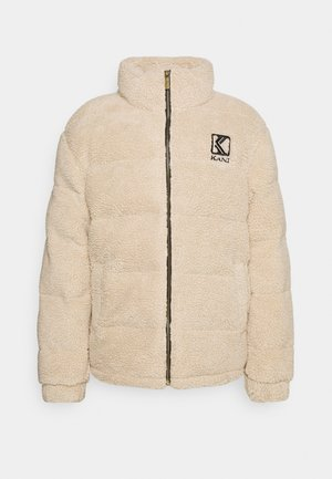 RETRO PUFFER JACKET UNISEX - Winter jacket - light sand