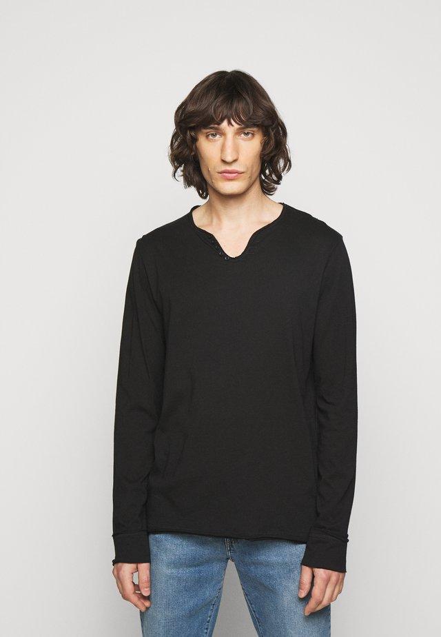 MONASTIR  - Langarmshirt - noir