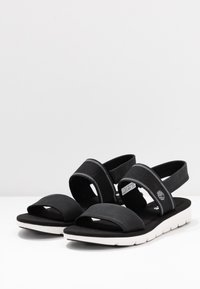 Timberland - LOTTIE LOU 2 BAND - Sandals - black - 2