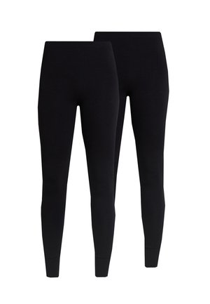KIM SIMPLE 2 PACK - Leggings - Trousers - black