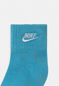 Nike Sportswear - CORE FUTURA ANKLE NO SLIP 3 PACK UNISEX - Ponožky - blue gaze - 2