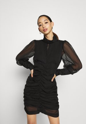 BENJI DRESS - Shift dress - black