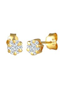DIAMORE - Earrings - gold-coloured - 3