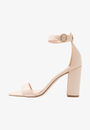 STELLA ANKLE STRAP - High heeled sandals - beige stone