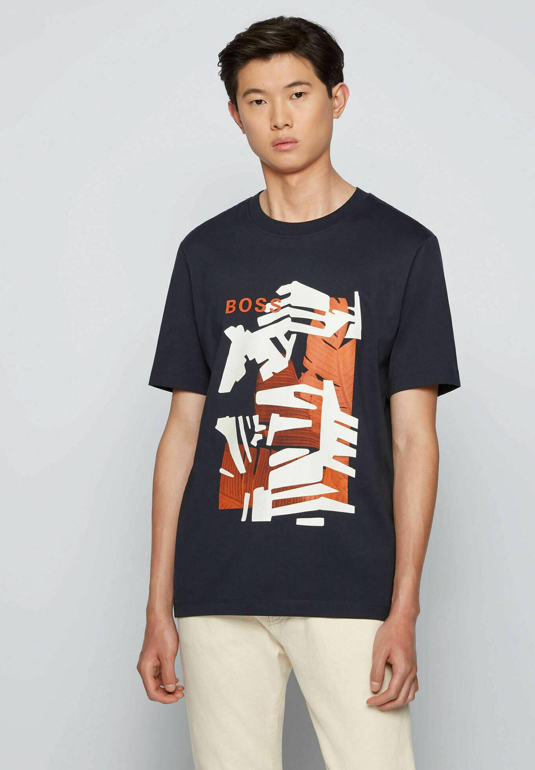 Herren T-Shirt print - marine