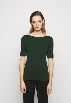 T-shirt basic - deep pine