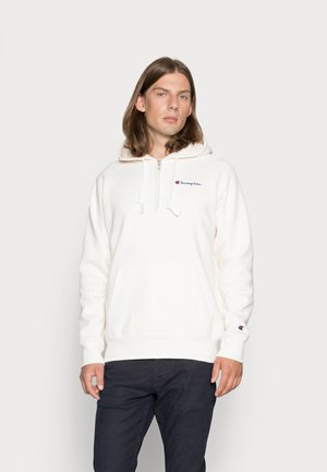 HOODED - Sweater - off-white