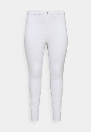 LAWLESS HIGHWAISTED SUPERSOFT - Jeans Skinny Fit - white
