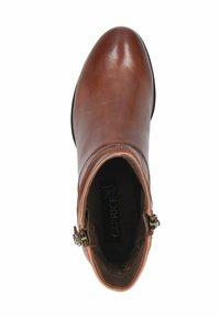 Caprice - STIEFELETTE - Korte laarzen - cognac soft na - 1