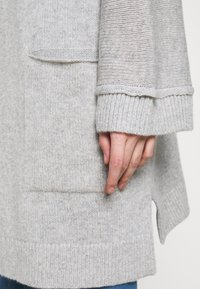 FTC Cashmere - CARDIGAN LONG - Cardigan - silver stone - 5