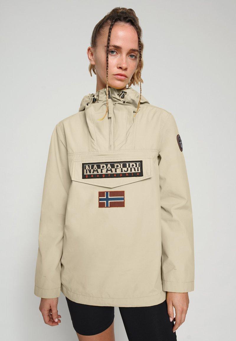 Napapijri - RAINFOREST SUMMER - Winter jacket - natural beige