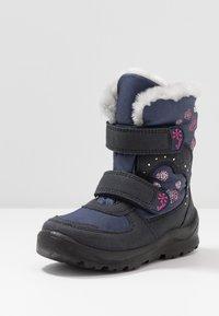 Lurchi - KIMMI-SYMPATEX - Winter boots - atlantic/fuchsia - 2