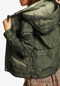 khujo - SHAMA - Summer jacket - olive - 5