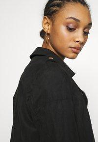 JDY - JDYPEACH BIKER - Faux leather jacket - black - 5