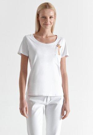 STENA - T-shirt print - white