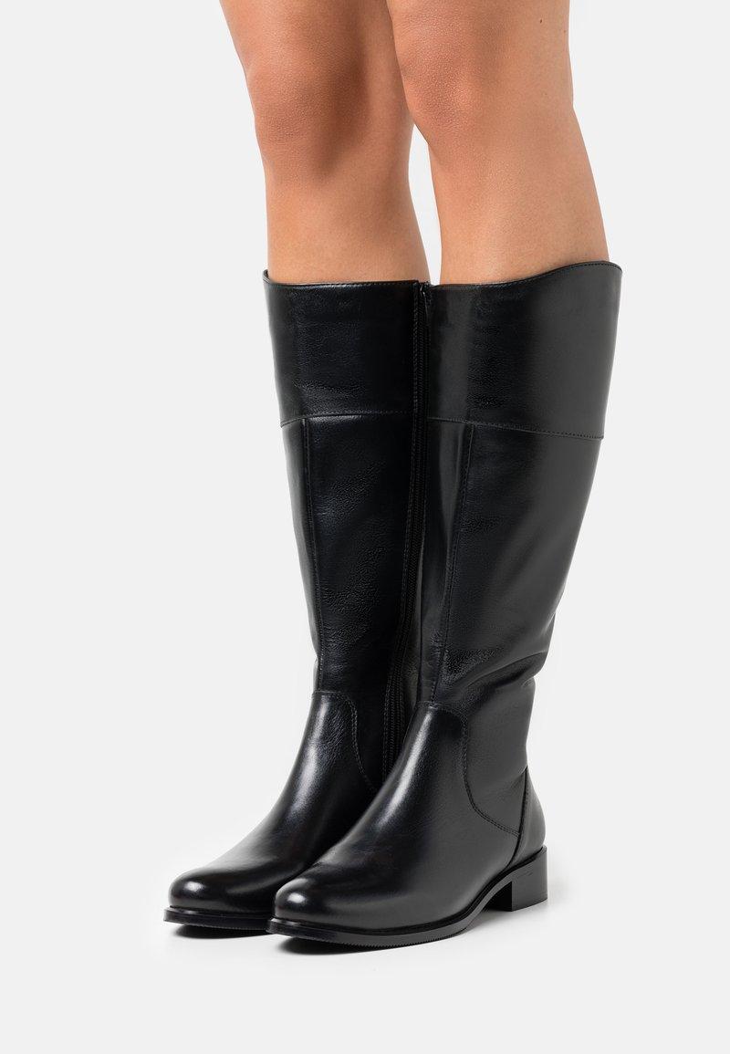 San Marina - SEANA - Vysoká obuv - noir