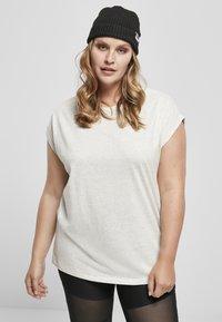 Urban Classics - Basic T-shirt - lightgrey - 0