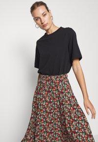King Louie - CIRCLE SKIRT - A-line skirt - black - 3