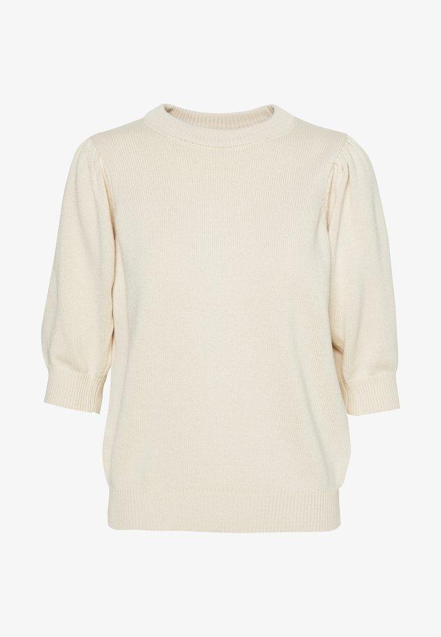 PCMASCHA  - T-shirt imprimé - whitecap gray