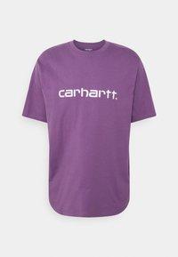 Carhartt WIP - SCRIPT  - Print T-shirt - aster/white - 0