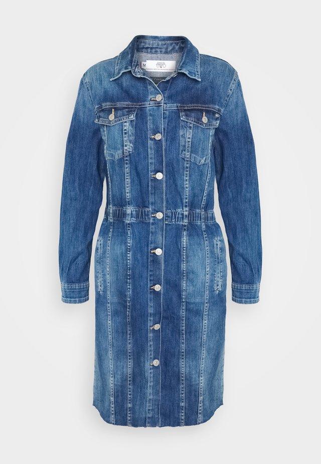 MEG - Vestido vaquero - blue