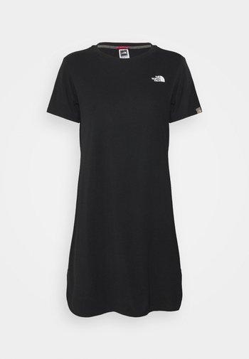 SIMPLE DOME DRESS - Jersey dress - black