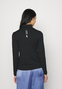 Nike Sportswear - MOCK - T-shirt à manches longues - black/white - 2
