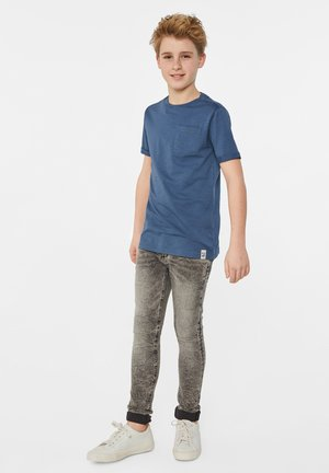 T-shirt basic - greyish blue