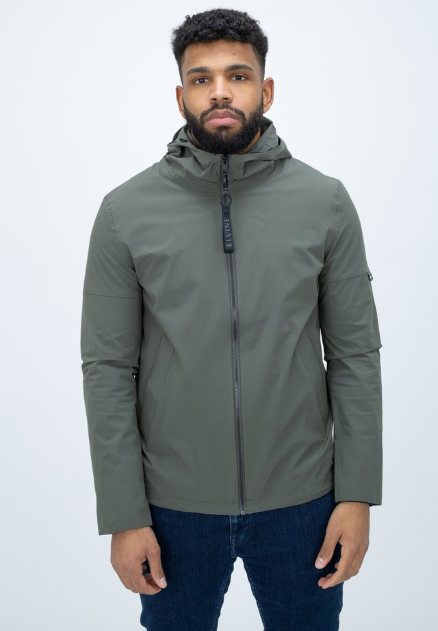 MAGMAR - Waterproof jacket - geranium green