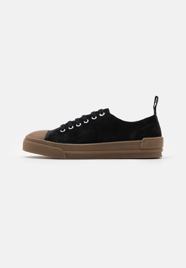 COURT DERBY SHOE - Baskets basses - black