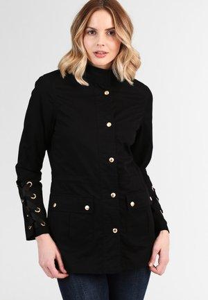 ANORAK - Summer jacket - schwarz